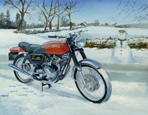 Lee Lacey - Commando Winter - Norton Commando (W)