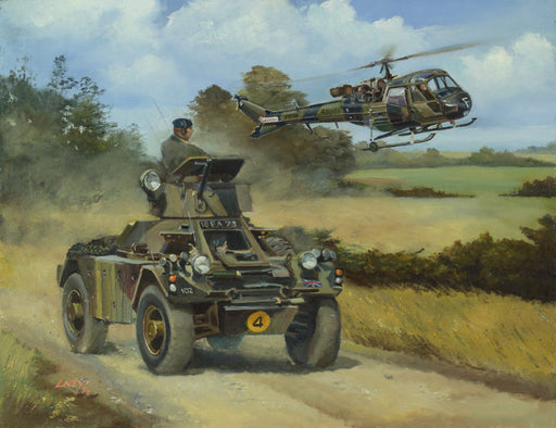 Eyes of the Army - Ferret Scout Car & Westland Scout