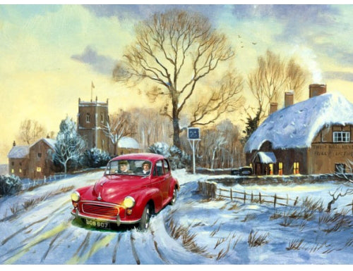 Kevin Walsh - Moggie's Christmas Tipple - Morris Minor