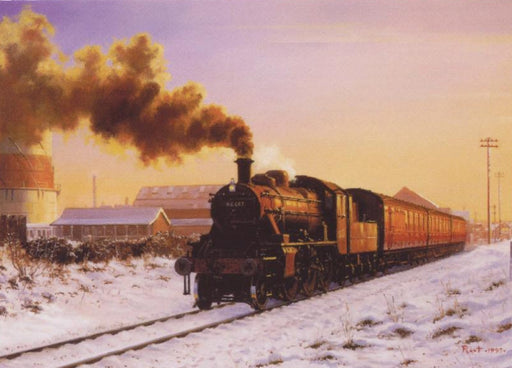 Malcolm Root - Ivatt in the Snow - 2MT