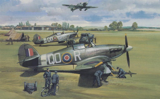 Michael Turner - Ready for Action - Hawker Hurricane