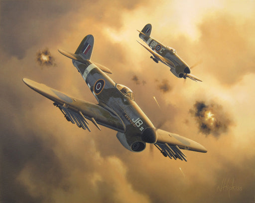 Baldwin's Typhoon - Hawker Typhoon