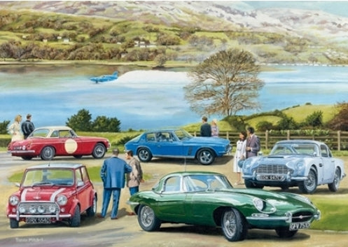 Trevor Mitchell - MGB, Aston Martin DB5, Jaguar E-Type, Mini, Je
