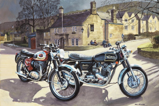 British Institutions - BSA A65 Lightning & Norton Commando