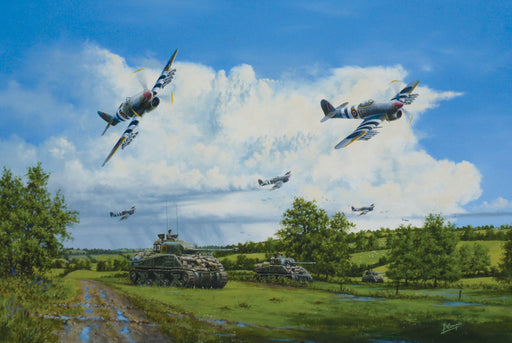 Approaching Thunder - Hawker Typhoon & Sherman Firefly