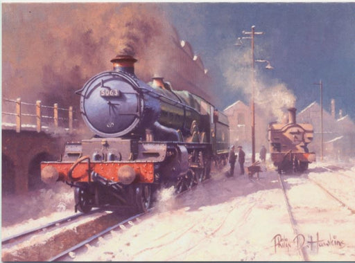 Philip D Hawkins - Old Oak Common - Castle Class