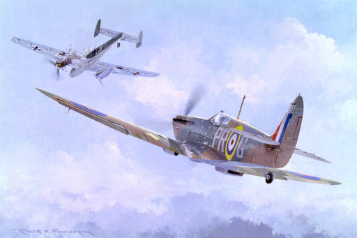 609 Sqn Does The Business- Supermarine Spitfire Mk.I