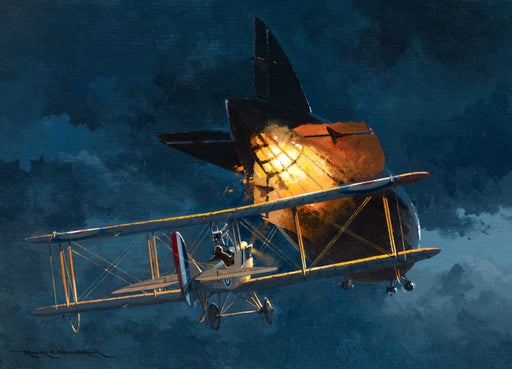Airship Down- B.E.2c William Leefe Robinson
