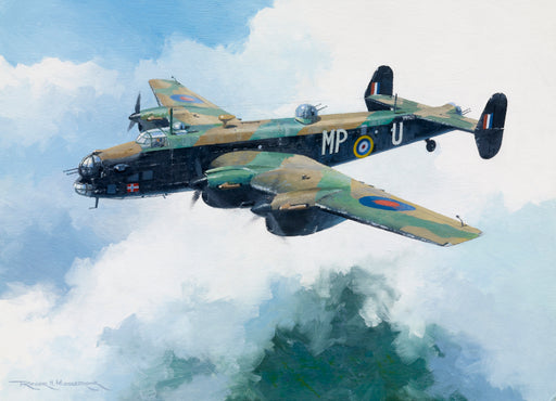 Always in the Shadow Of...- Handley-Page Halifax Original