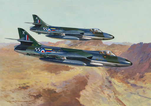 Ready to Rumble - Hawker Hunter Original