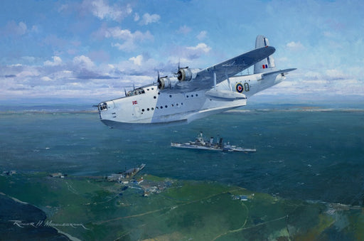 Checking Out The Navy- Short Sunderland