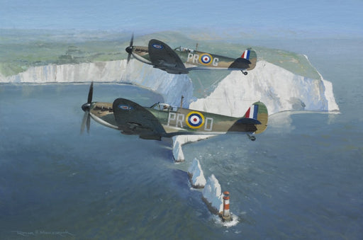 Patrolling The Needles- Supermarine Spitfire Mk.I
