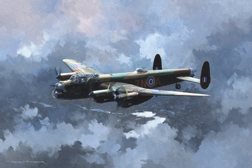 The Lonely Way Home - Avro Lancaster