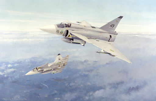In Its Element - SAAB JA37 Viggen