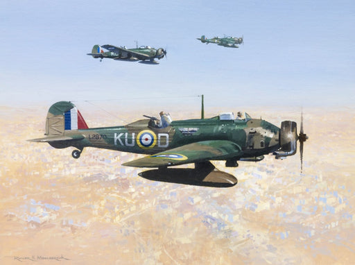 Obsolete but Willing - Vickers Wellesley Original Painting