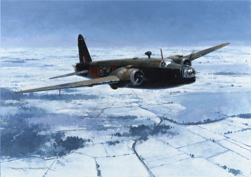 Roger H. Middlebrook - Wellington Winter - Vickers Wellington