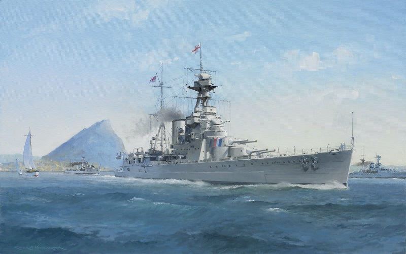Pride of The Fleet- HMS Hood
