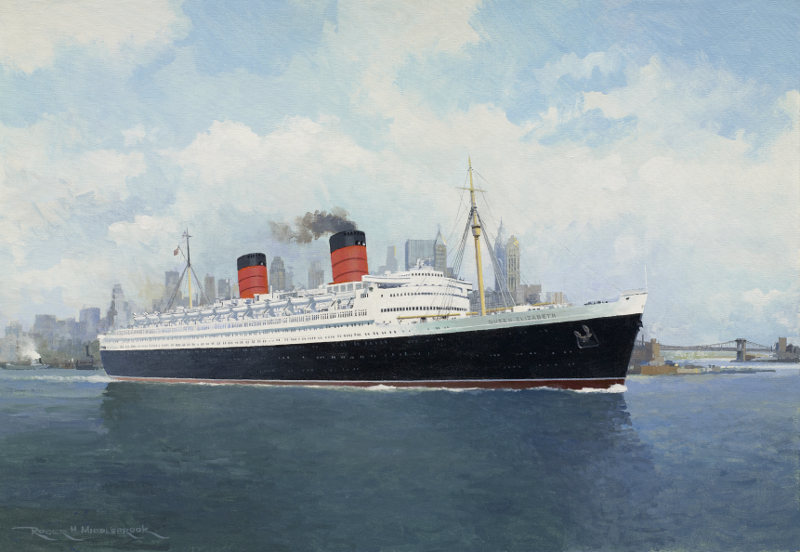 Cunard Majesty - RMS Queen Elizabeth