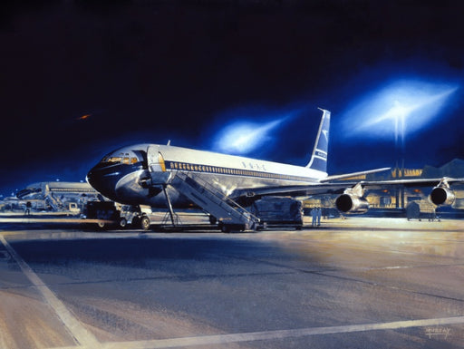Nightlife - Boeing 707 - BOAC
