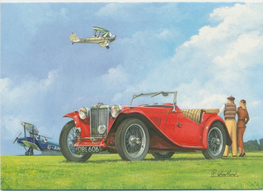 Richard Wheatland -Flying Days - MG TC