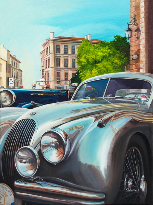 Reflections in Silver - Jaguar XK120