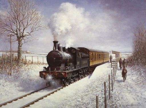 Don Breckon - Winter Steam - LNER E4 2-4-0