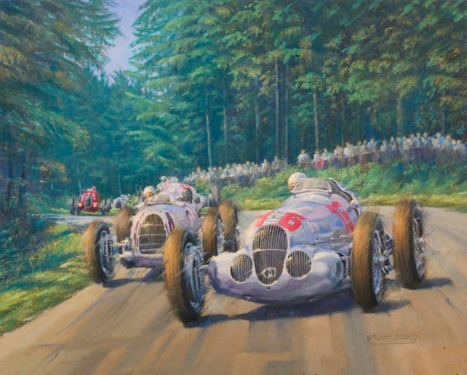 March of the Titans - Auto Union & Mercedes