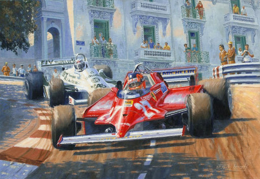 The Legend of 27 -  Gilles Villeneuve - Monaco 1981