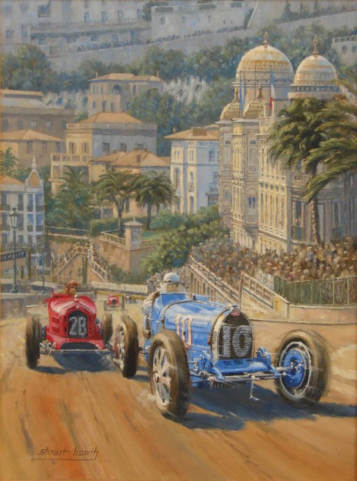 The Rivals - Bugatti 35 & Alfa Romeo