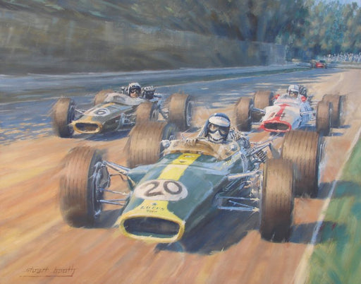 Spirit of the Sixties -  Jim Clark - Lotus 49