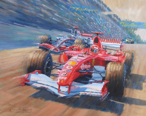 The Final Pass - Ferrari F1 248 - Michael Schumacher