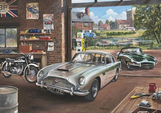 Richard Wheatland - Secret Service - Aston Martin DB5