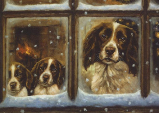John Trickett - Christmas Eve - Springer Spaniel