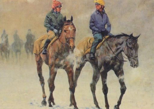 Malcolm Coward - Winter Workforce - Race Horse