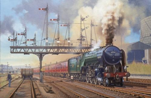 Eric Bottomley - Stirling Departure - 60532 Blue Peter