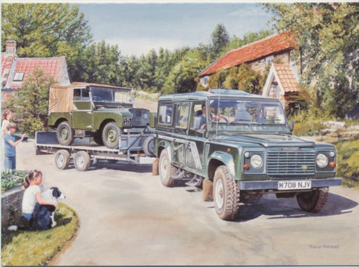 Trevor Mitchell - Veterans Day Out - Land Rover