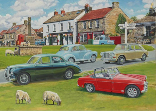 Trevor Mitchell - Classic Cars - MG & Morris