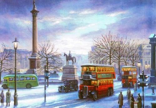 Mike Jefferies - Christmas at Trafalgar Square