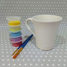 Load image into Gallery viewer, Ready to paint pottery - Cone Flare Mug
