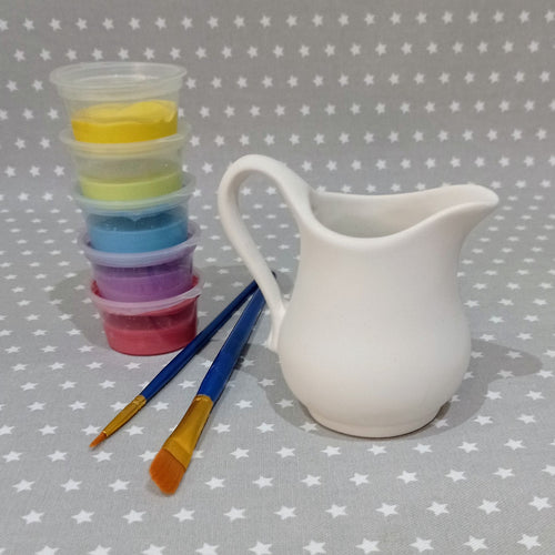 Ready to paint pottery - Classic Cream Jug
