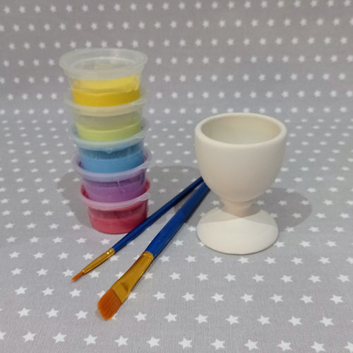 Ready to paint pottery - Classic Egg Cup