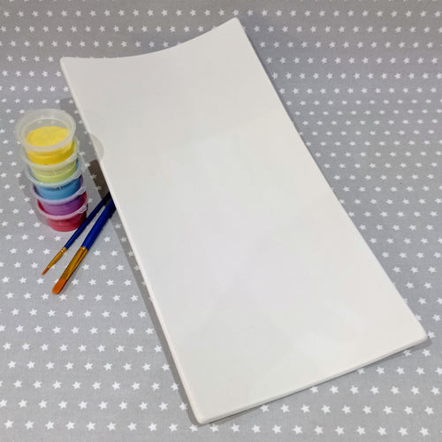 Ready to paint pottery - Rectangle Server