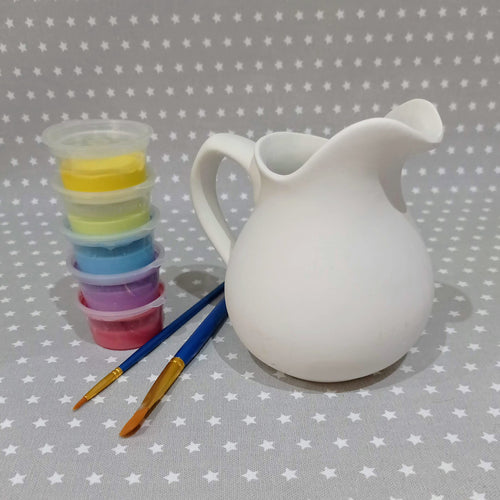 Ready to paint pottery - Traditional Jug