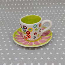 Load image into Gallery viewer, Espresso Cup and Saucer