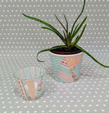 Load image into Gallery viewer, Decoupage Plant Pot & Tealight Kit