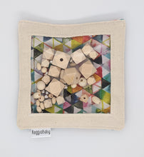 Load image into Gallery viewer, Large Sensory Toy with Wood Geometric Beads and Bells