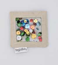 Load image into Gallery viewer, Mini Sensory Toy with Bells and Sequins