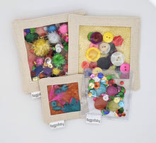 Load image into Gallery viewer, Multi-Pack Sensory Toys with Natural Materials, or Colorful and Sparkly Materials