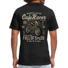Load image into Gallery viewer, Cafe Racer Tee - black