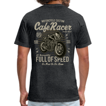 Load image into Gallery viewer, Cafe Racer Tee - heather black